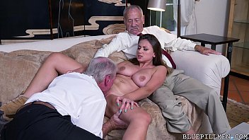 Really young girl old men xxx Old guys perving on young girl