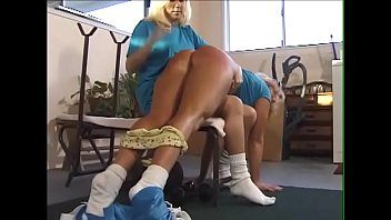Sabrina pantsed & spanked