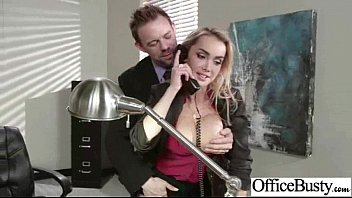 Office Sex With Horny Slut Girl With Big Tits vid-15