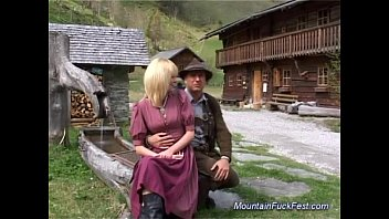 Milf sex extreme - Busty german milf needs hard anal sex in the mountains