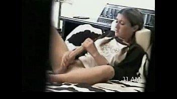 Amateur girl next door masturbating