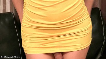 Ladyboy Gor Yellow Bareback Drill