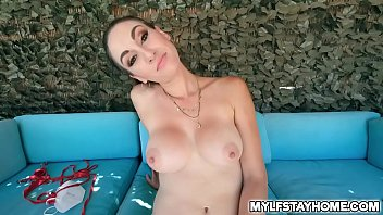 Naughtys tepson Alex Jett finds his hot step mom Artemisia Love tanning in their backyard. He got so horny and couldnt help but to fucked her pussy.