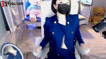 Korean Bj Nice Tits ! Show Cam 100219.2340