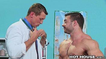 Gay discrimination by doctors Big boy jock fucked by big dick muscle hunk daddy doctor