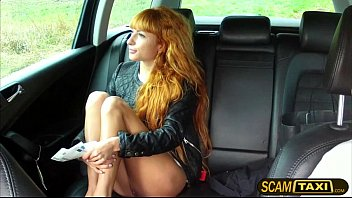 Sexy cutie Liza gets herself doggy style fucked as payment for her taxi fare