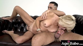 Being divorced, didn't stop granny Diane Sheperd from getting a dick inside her!