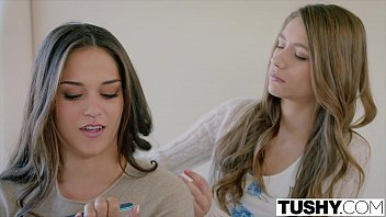 TUSHY Two Pretty Teens Seduce One of Their Sisters Boyfriend