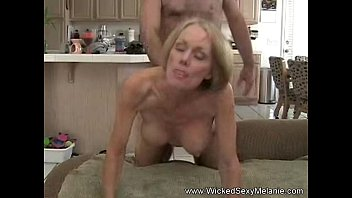 Cougar in bikini Son creampie to mom in hotel