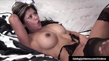 Mexican Milf Gabby Quinteros Sucks &amp_ Fucks A Huge Black Dick