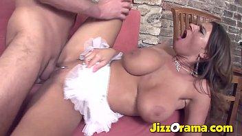 JizzOrama - Brunette Milf Is A Slut W/ Big Tits