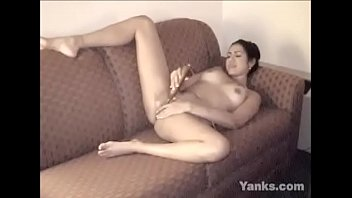 Lusty Yanks Latina Isabella Toys Her Cunt