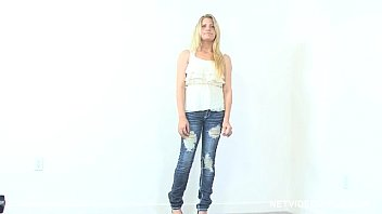Blonde Calendar Model Audition - Netvideogirls