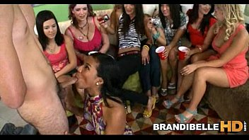 1 Lucky Cock with over 10 Girls Brandi Belle