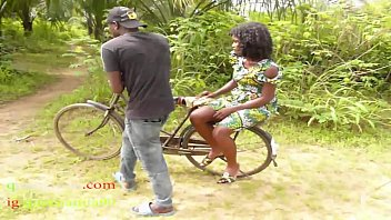 The Only Guy Man Who Own Bicycle In The Village Fucked All The Village Girls And People Wives In The Bush 8 min