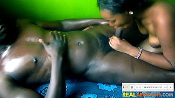 Real African Girlfriend Loves Big Cock