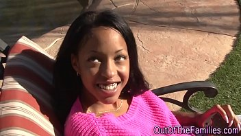 Ebony step teen creamed