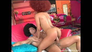 Afro Chick Fucked Hard By White Brother