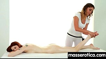 Sensual Oil Massage turns to Hot Lesbian action 24