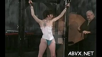 Boys bondage stories - Bbw hottie severe stimulation in complete bondage scenes