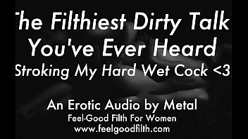 Streaming Video Stroking My Big Cum-Covered Cock & Talking Dirty (feelgoodfilth.com - Erotic Audio for Women) - XLXX.video