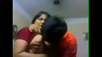 My Aunty Kissing Me And Boobs Pressing