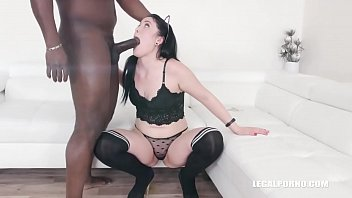 First anal and first black cock for Isabel Diamond IV295