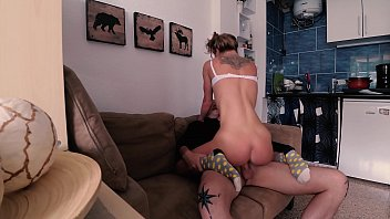 Russian Girl Sasha Bikeyeva - Real Homemade tape young amateur couple
