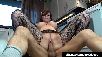Hairy boys legs - Horny housewife shanda fay bangs hubby on the floor