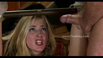 Psychology teen violence Blonde forced to fuck in extreme deepthroat and bondage perversion video