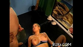 Group sex and pissing session