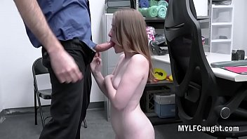 Brunette MILF Cries & Gets Fucked By Officer For Stealing- Alice Merchesi