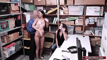 Petite latina fucked in front of stepmom