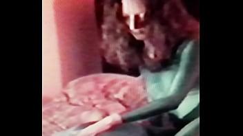 Spandex Sleeping guy grope by girl