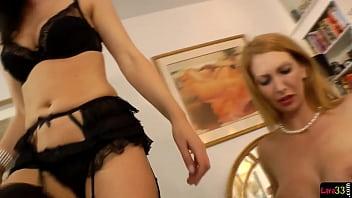 Euro milfs enjoys sapphic lesbian | babe | milf | cougar