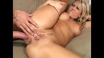 Lusty MILF Chennin Blanc gets her juicy arse slammed on couch