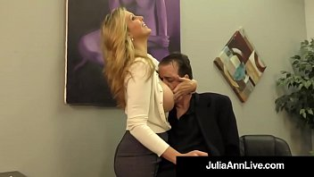 Adult move Adult award winner julia ann drains a cock with hot handjob