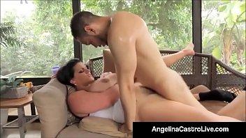 Cubas Porn Queen Angelina Castro Gets A Big Black Cock & Cum