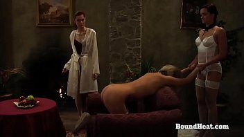 Bdsm undressed Disappeared on arrival: caught lesbian slave bent over sofa and whipped hard