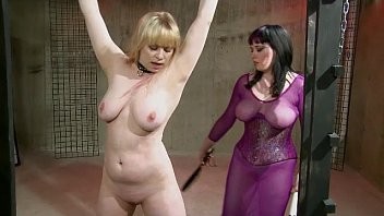 New bdsm toys - Lesbian bondage sex: black and blue bdsm pt. 2