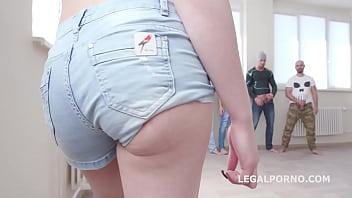Horny Monika Wild Fucked And Facialized By 4 Big Dicks pornhub video