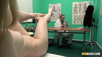 Slutty patient Misha Cross waiting for the Doc