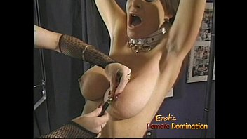 Munch bdsm Beautiful brunette looker enjoys having some kinky bdsm fun with a redhead