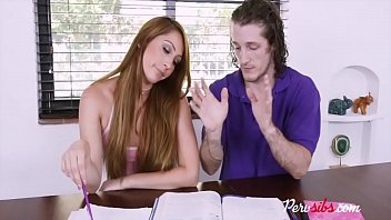 STEPSISTER makes good use of brother's brain and dick