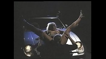 Vintage sex: fucked on the hood of a car