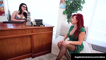 Doctor Sex Pott Angelina Castro StrapOn Drills Sexy Vanessa!