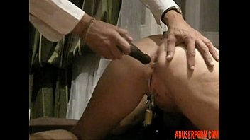 BDSM Mature Submissive Slave Anal Fuck Training: HD Porn used - abuserporn.com