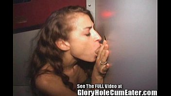 Naughty Nurse Tasting Semen Samples Through the Gloryhole