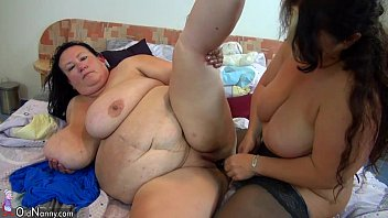 OldNanny Old chubby granny slave is whiped chubby mature