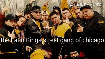 latina joins gang sloppy blowjob